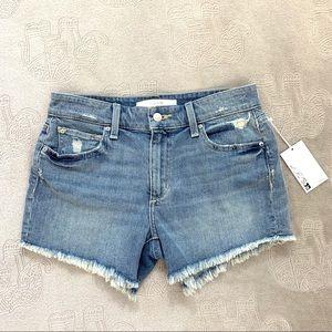 """NWT Joe's Jeans Ozzie 4"""" Cut Off Short in Clovis"""